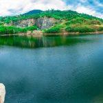 Sắc xanh Hồ đá Ma Thiên Lãnh